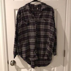 Urban Outfitters Flannel boyfriend for size MEDIUM